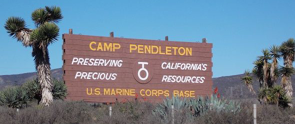 marine corps base camp pendleton staff agencies environmental