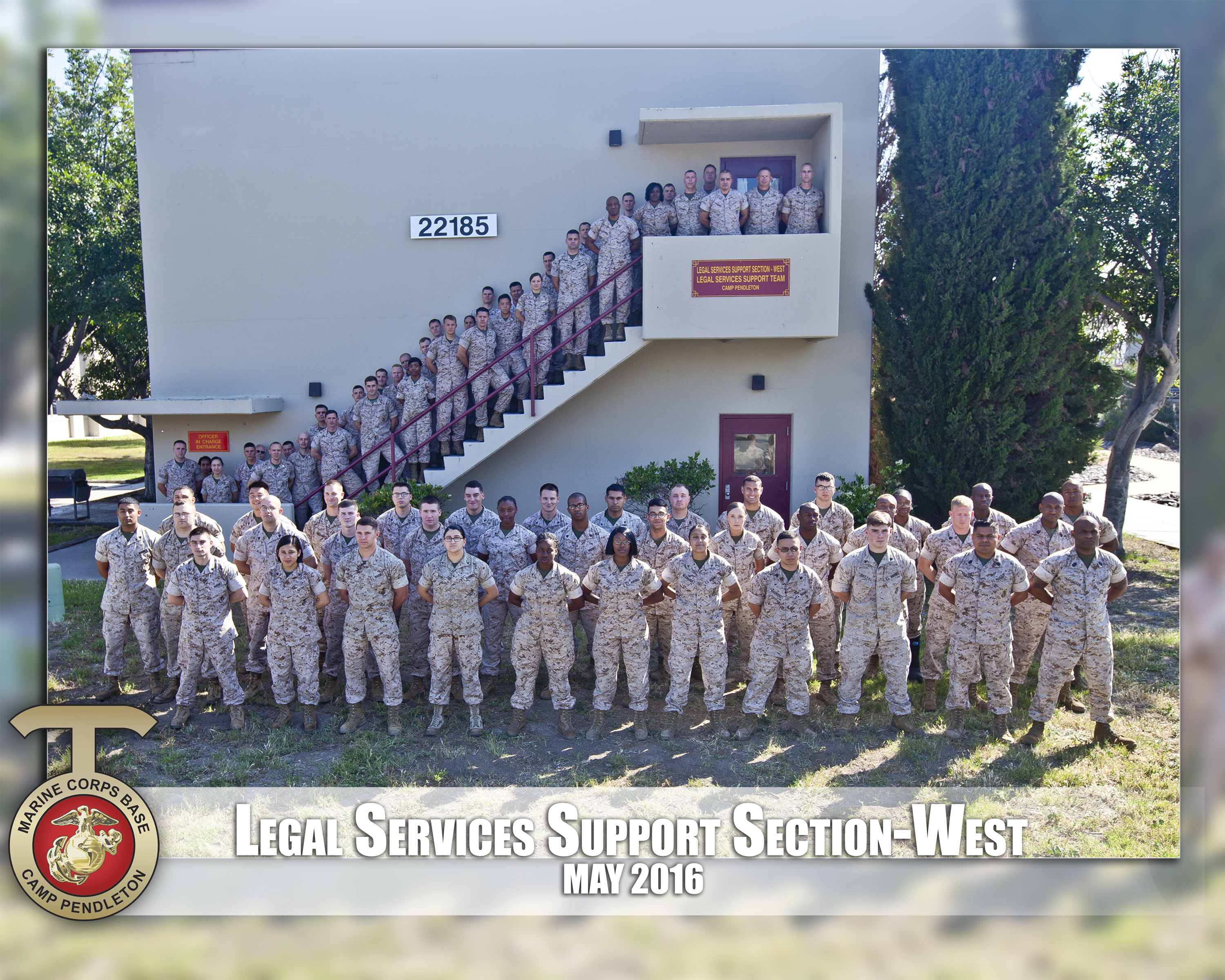 marine corps base camp pendleton staff agencies legal services